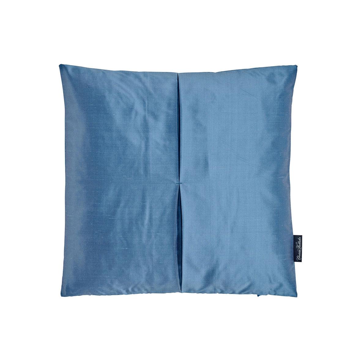 Zierkissen Jamila - Seide - Farbe blau - Christian Fischbacher