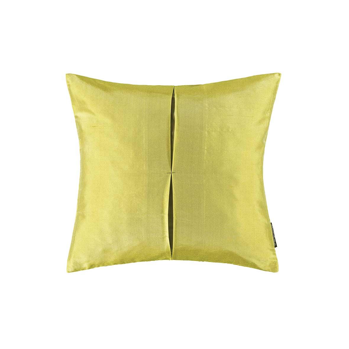 Zierkissen Jamila - Seide - Farbe gelb - Christian Fischbacher