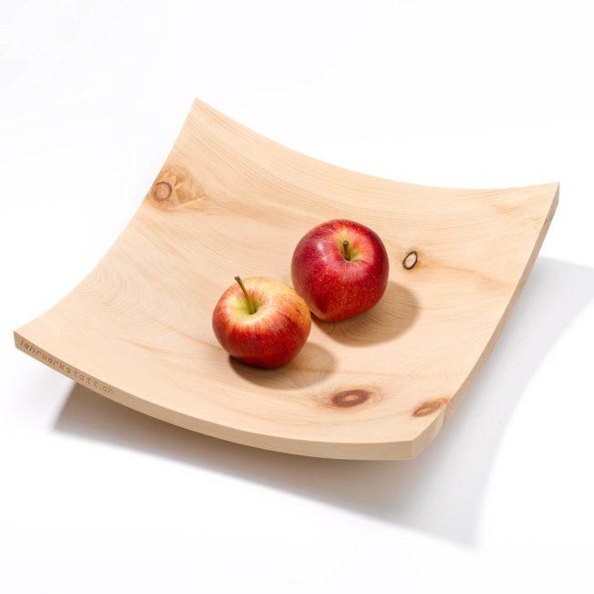 Fruchtschale aus Arvenholz