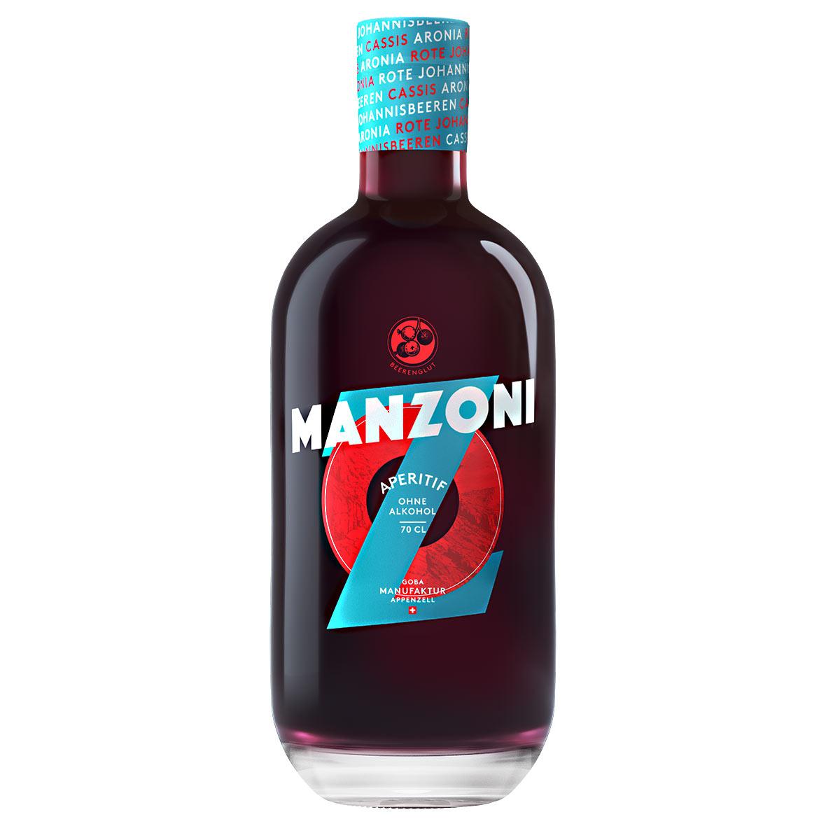 Manzoni - alkoholfreier Apéritif