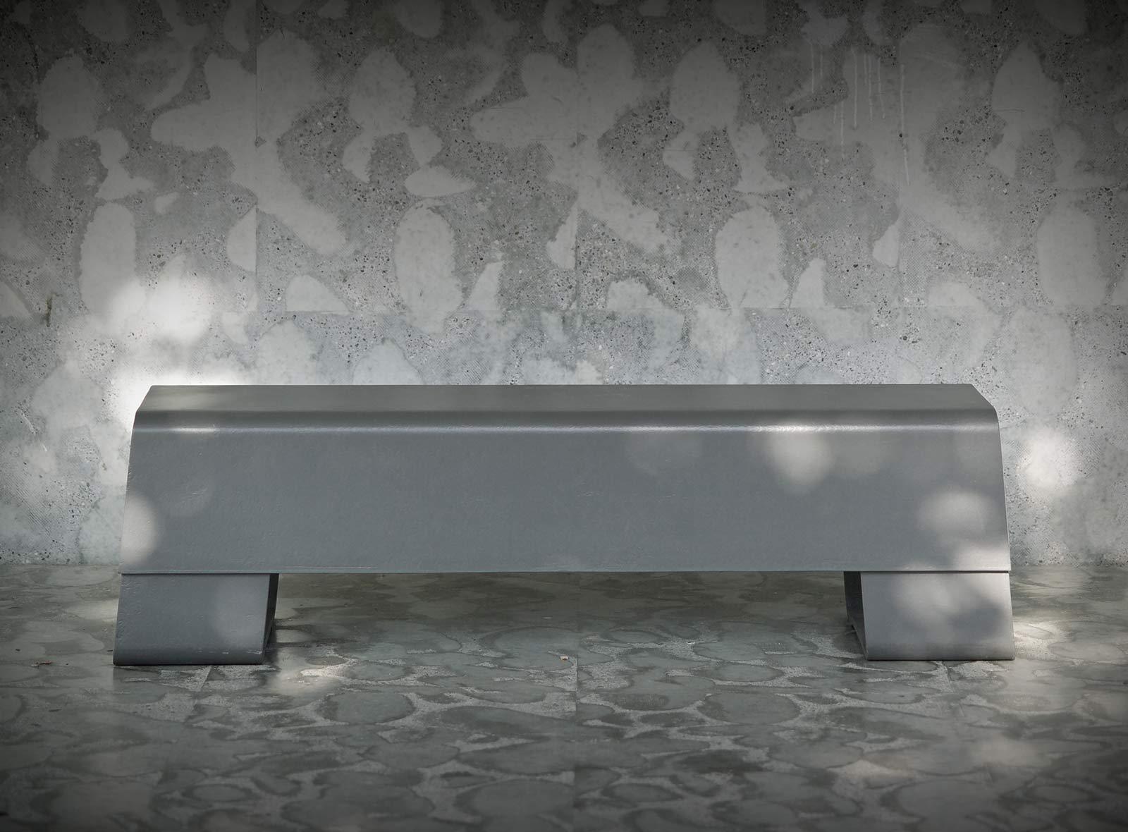 Sitzbank, Designer Michel Bruggmann