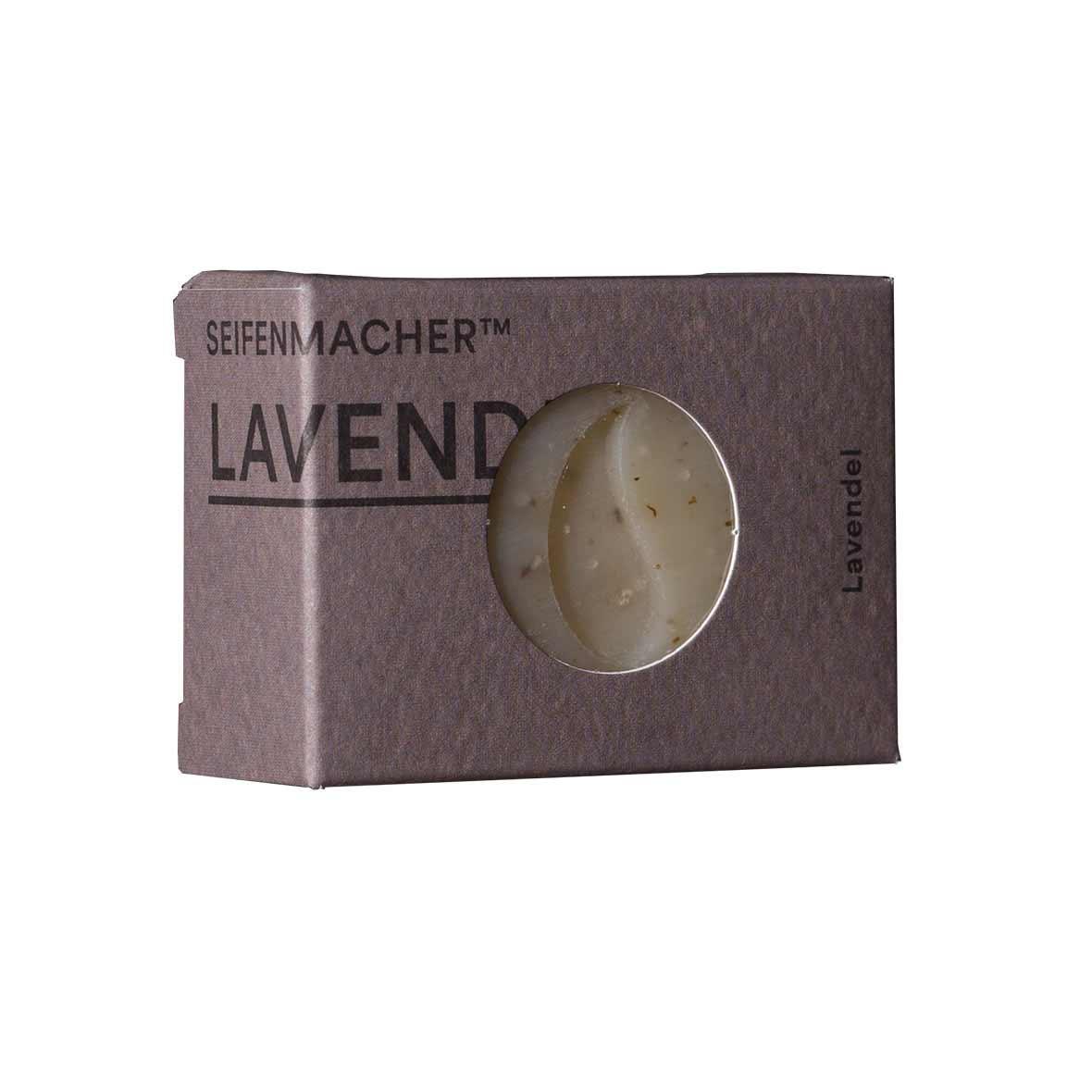 Handgemachte Naturseife mit Lavendel