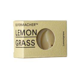 Handgemachte Naturseife mit Lemongrass
