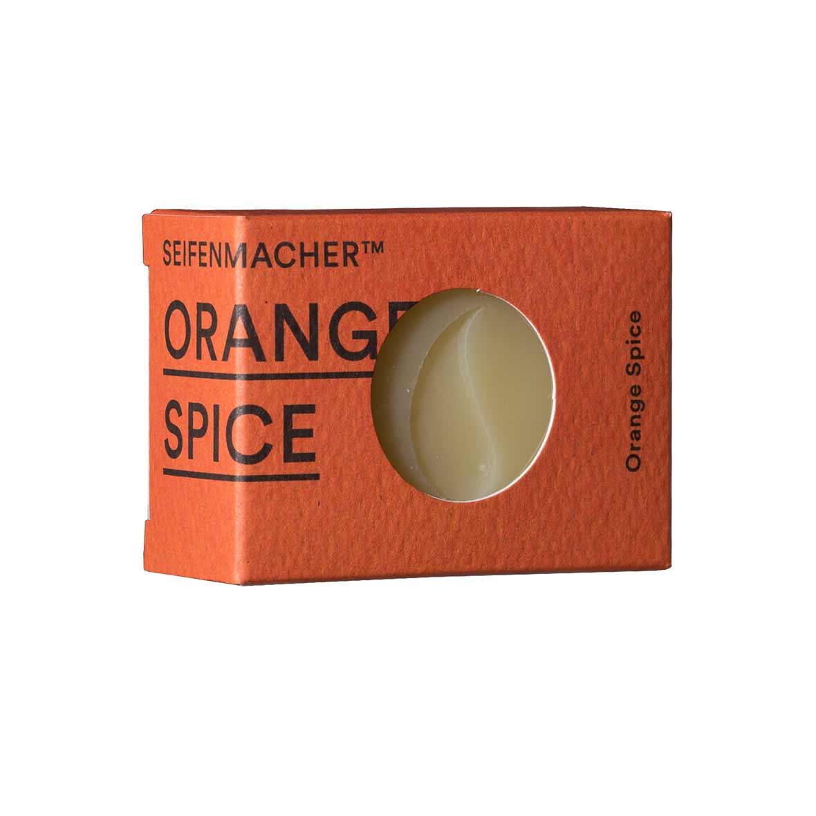 Handgemachte Naturseife Orange-Spice