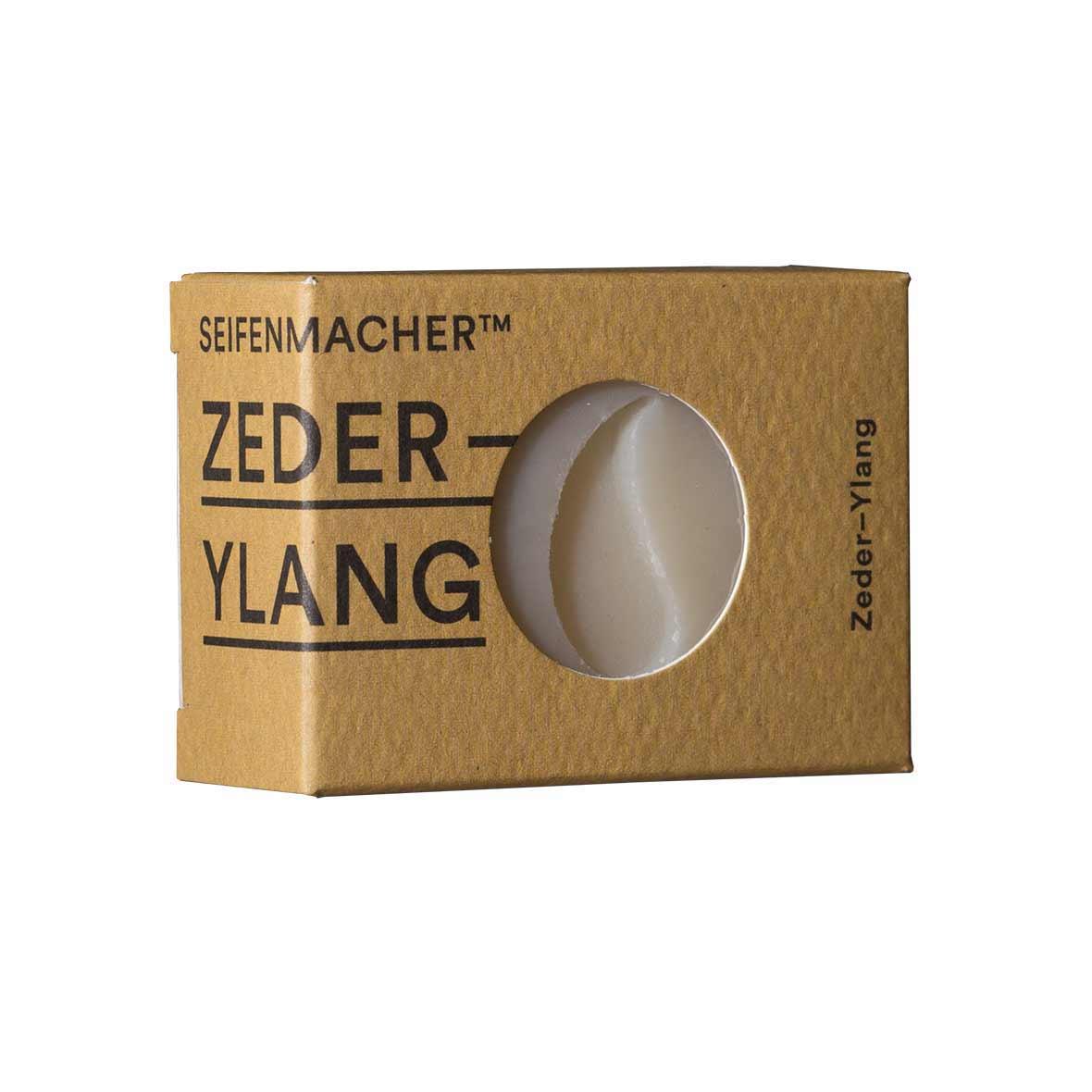 Handgemachte Naturseife Zeder-Ylang