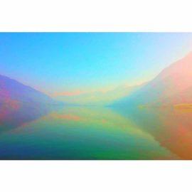 leinwandbild vom immensee auf 90 x 60 cm