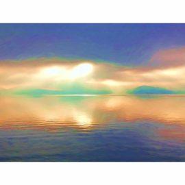 leinwandbild 'zwischen himmel und erde' (1) limitierte auflage