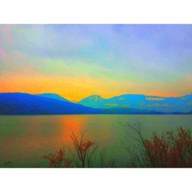 leinwandbild 'zwischen himmel und erde' (11c) limitierte auflage