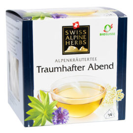 traumhafter abend tee swiss alpine herbs