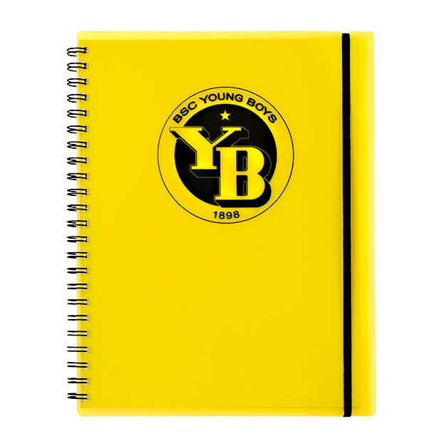 BSC Young Boys Notebook - Kunststoff