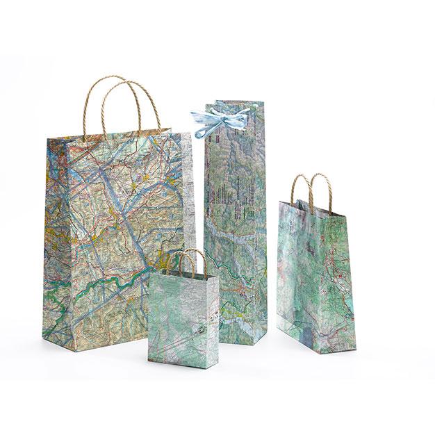 Geschenkverpackung Mapbag-Set