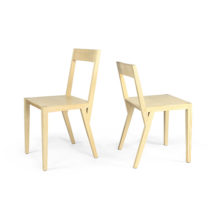 Stuhl aus Esche massiv