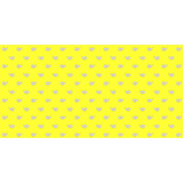Glarner Tüechli - Paisley-Motiv - Farbe gelb