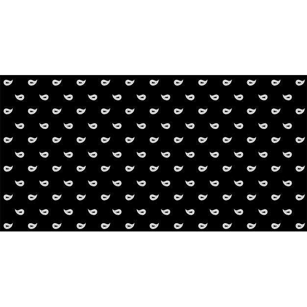 Glarner Tüechli - Paisley-Motiv - Farbe schwarz