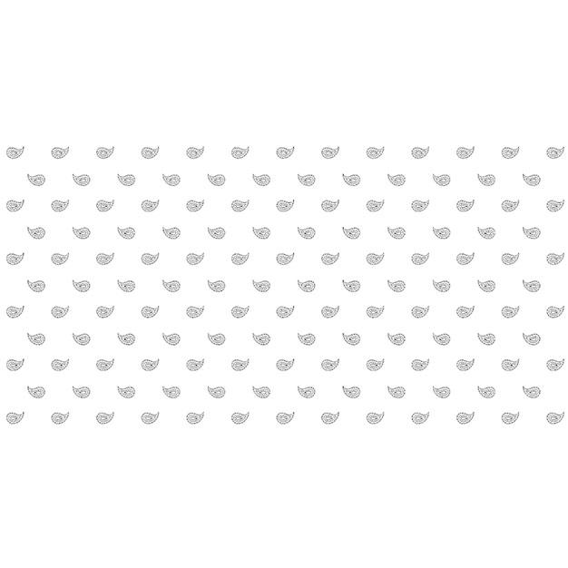 Glarner Tüechli - Paisley-Motiv - Farbe weiss