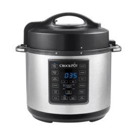 crock pot express multi cooker edelstahl