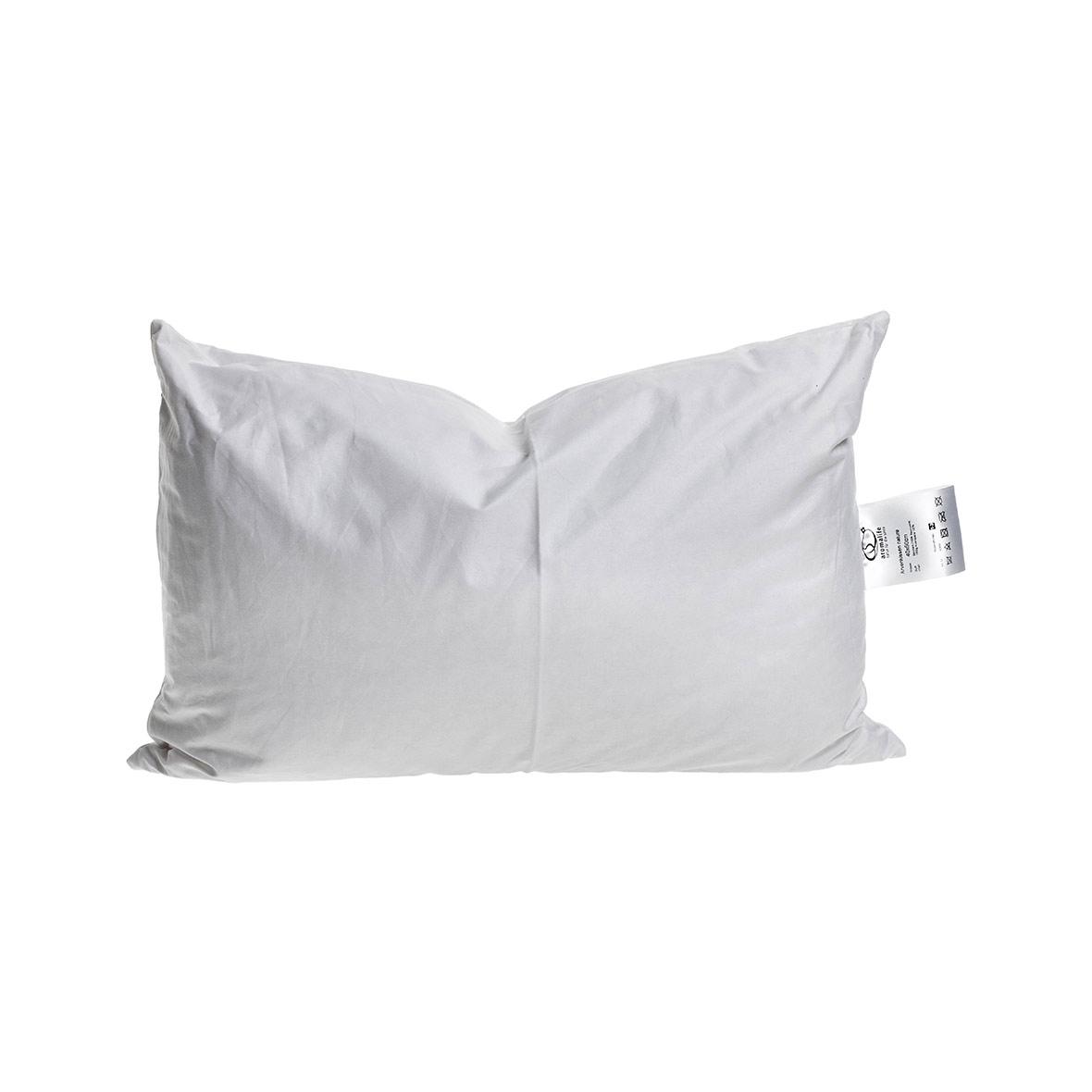 Arvenkissen 40 x 60 cm - 100% Baumwolle - weiss
