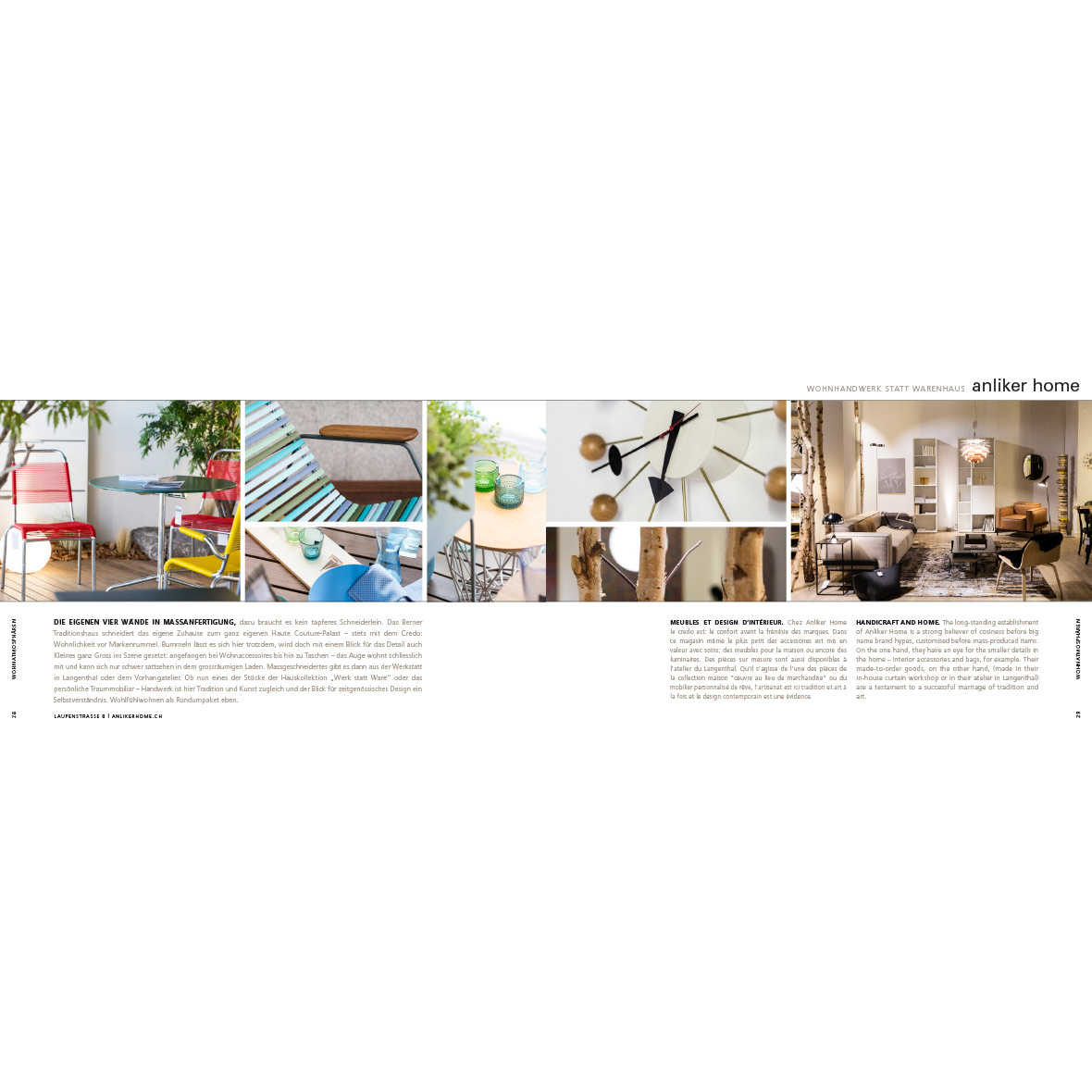 Stadtbuch - Einfach Bern Edition 2 - Anliker Home