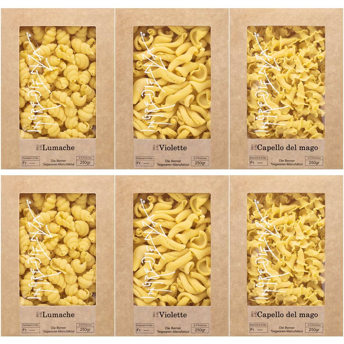 pasta set lumache ingredienza
