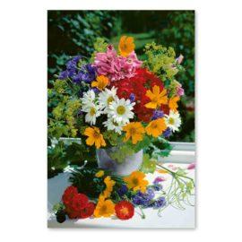 blankokarte bouquet