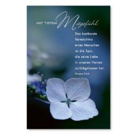 Trauerkarte Mitgefühl