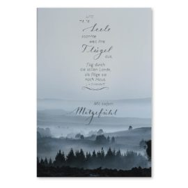 Trauerkarte Landschaft