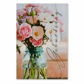 Geburtstagskarte Bouquet