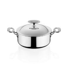 kasserolle mit deckel swissline ladina