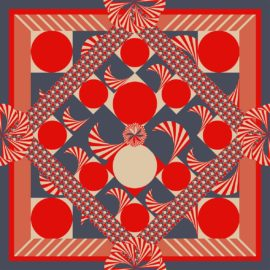 seiden foulard tournique nathalie pellon