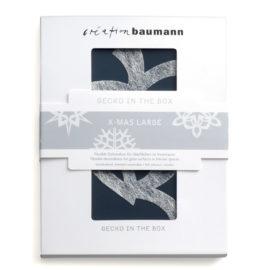 gecko in the box xmas large verpackt creation baumann