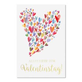 valentinstag herzchen abc karten