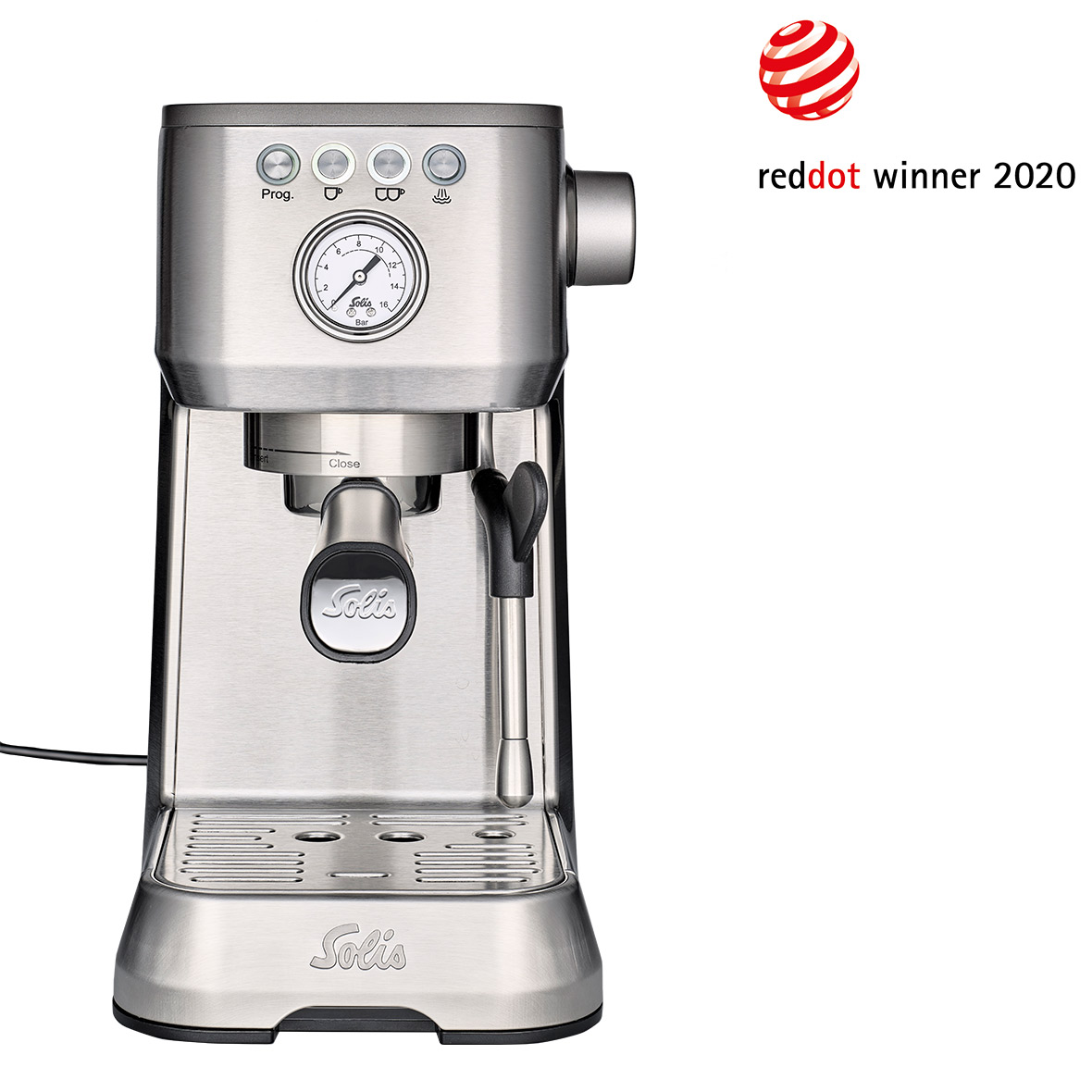 kaffeemaschine barista perfetta plus redot winner 2020 solis