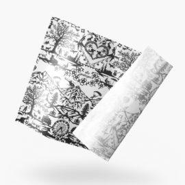 wickelpapier scherenschnitt gediegen