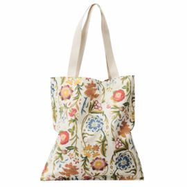 tragtasche tote blume allover landesmuseum