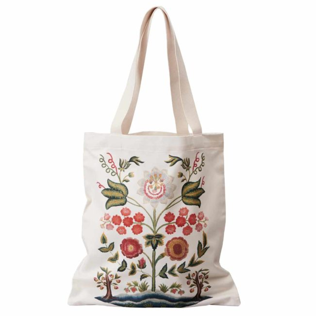 tragtasche tote blume landesmuseum