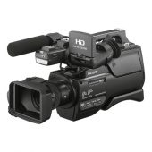 Camera video profesionala Sony HXR-MC2500E – Obiectiv Sony G zoom optic 12x, Wi-Fi, 32GB Black Friday 2019