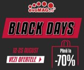 Black Days la evoMAG 2019