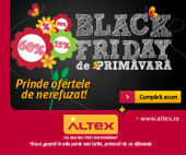 Black Friday de Primăvară la ALTEX 2019