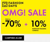 OMG Sale la Fashion Days 2019