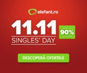 Single's Day la Elefant.ro 2019
