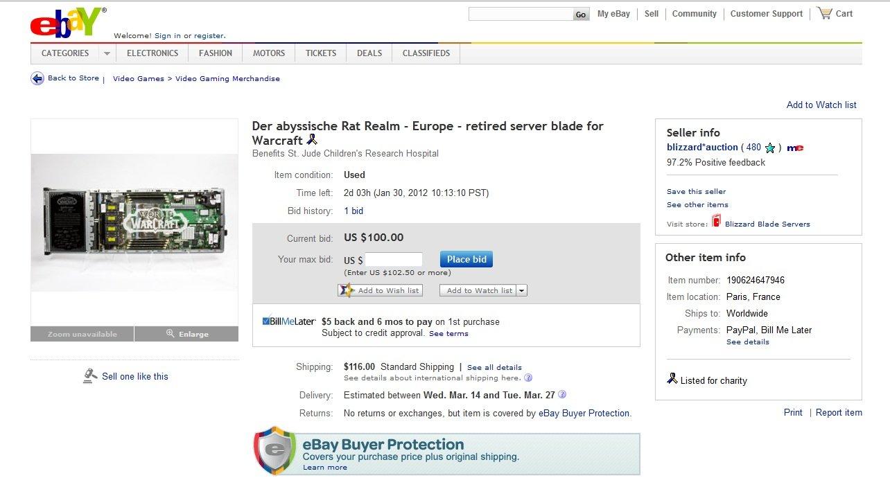 Server Blades auf Ebay
