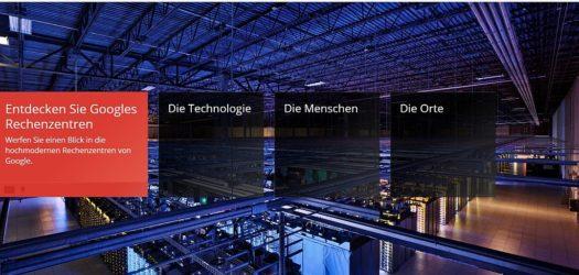 Google's Rechenzentren