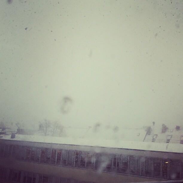 Juhu, es schneit :-) - from Instagram