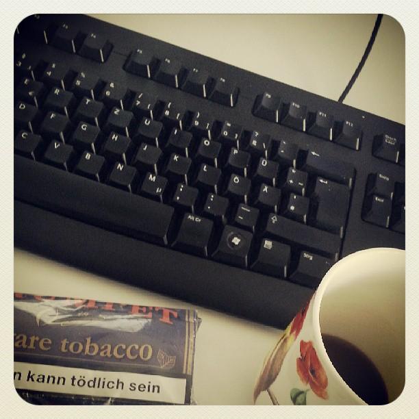 Informatiker Arbeitsplatz ;-) - from Instagram