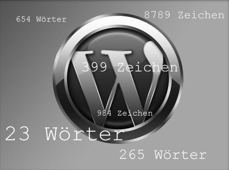 WordPress: Ausgabe der Anzahl von Wörtern oder Zeichen in einem Post