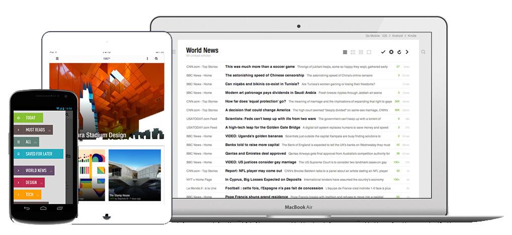 feedly - Eine Google Reader Alternative