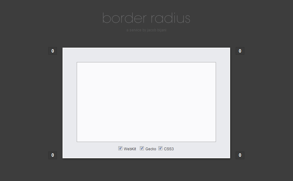 CSS: border-radius auf Knopfdruck