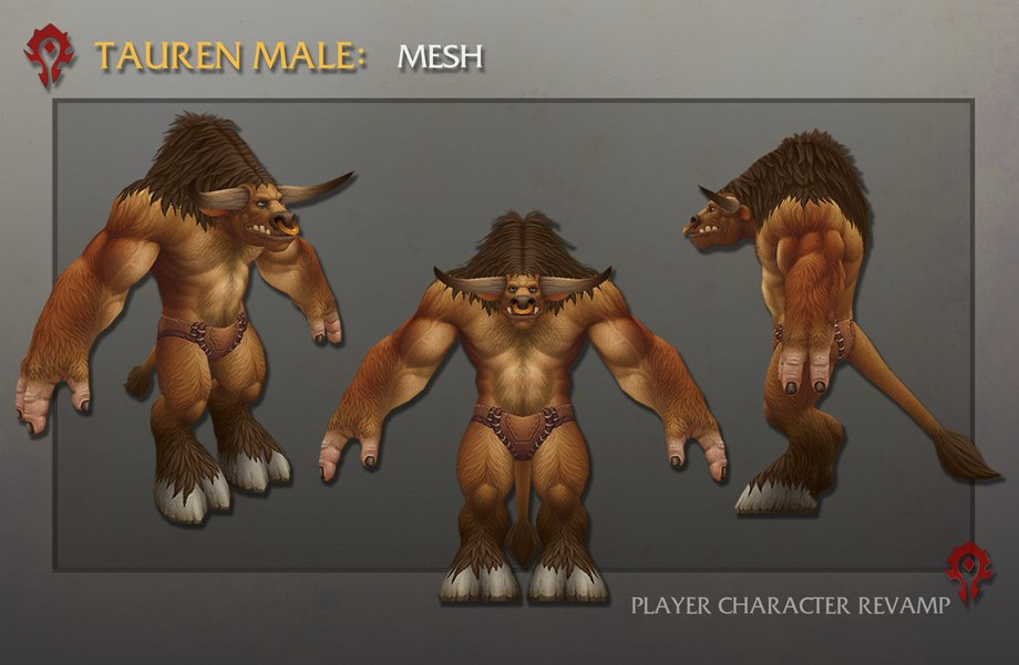 Warlords of Draenor: Artcraft – Running of the Bulls (Neue Charaktermodelle)