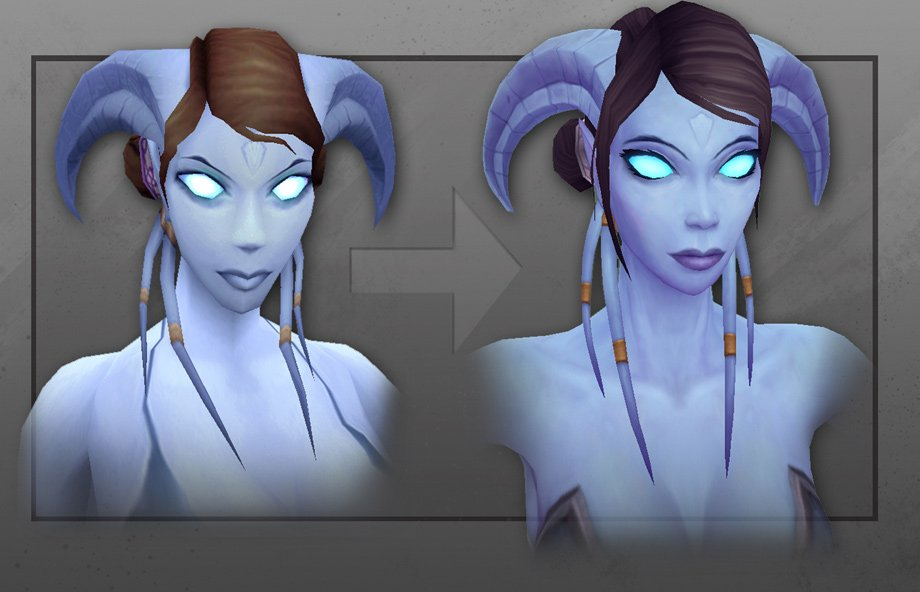 Warlords of Draenor: Artcraft – Daughter of Argus (Neue Charaktermodelle)