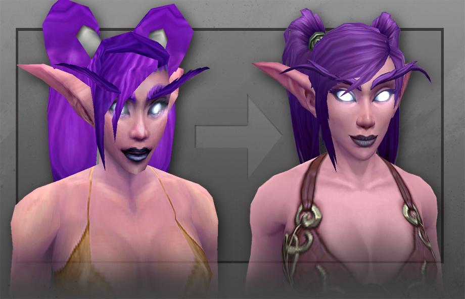 Warlords of Draenor: Artcraft – Huntress of Teldrassil (Neue Charaktermodelle)